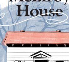 McElroy House in Fall Sticker
