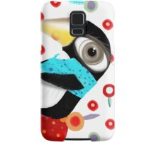 Bed of Roses Happy Penguin Samsung Galaxy Case/Skin