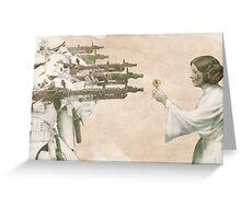 Flowers for Alderaan Greeting Card