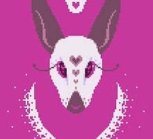 White rabbit by Malevolentmask