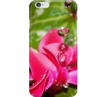 Tiny World in Water droplets iPhone Case/Skin