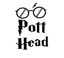 Pott Head Expecto Patronum Photographic Print