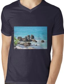 rocks Mens V-Neck T-Shirt