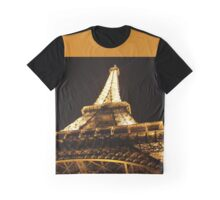 Eiffel Tower at Night Graphic T-Shirt