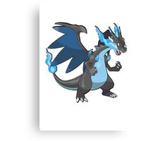 Mega charizard x Canvas Print