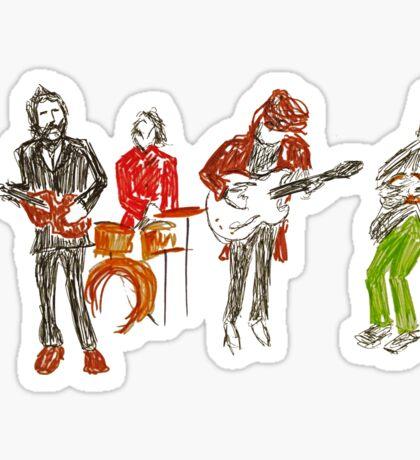 Scribble Beatles 2 - Rooftop Sticker