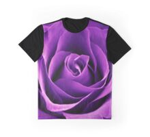 Purple Passion Rose Graphic T-Shirt