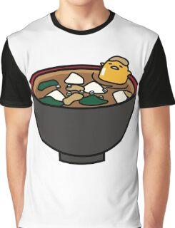 Gudetama Soup Bath Graphic T-Shirt