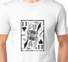 13 White Card Unisex T-Shirt