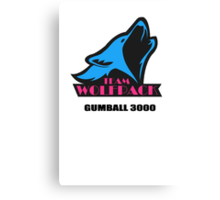 Team Wolfpack Gumball 3000 Canvas Print