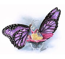 Butterfly Fairies Photographic Print