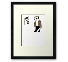 Almost Friday The 13th Jason Framed Print