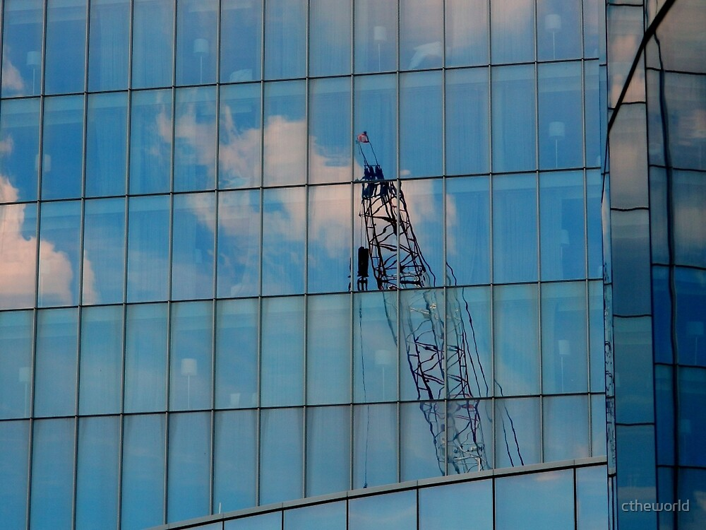 Reflected - Blue skies and More  ^ by ctheworld