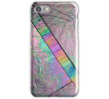 Iridescent Color block Holographic Metallic iPhone Case/Skin
