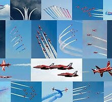 Red Arrows 2014 - 50 Display Seasons by © Steve H Clark Photography