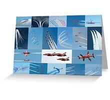 Red Arrows 2014 - 50 Display Seasons Greeting Card