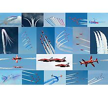 Red Arrows 2014 - 50 Display Seasons Photographic Print