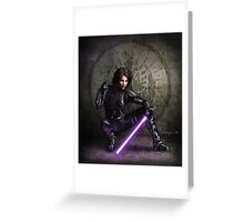 Sword of the Jedi Greeting Card