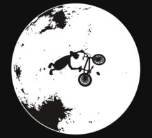 ET Extraterrestrial Moon BMX Trick by popculture