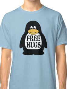 Hugs the Penguin Classic T-Shirt