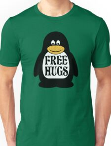 Hugs the Penguin Unisex T-Shirt