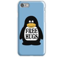 Hugs the Penguin iPhone Case/Skin