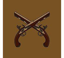 Flintlock Pistols Photographic Print