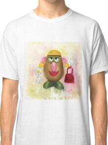 Mrs Potato Head - she's found her eyes! Classic T-Shirt
