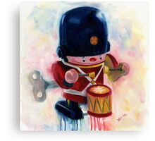 Toy Soldier- vintage Canvas Print