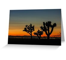 guardians of the desert Greeting Card