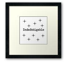 Indefatigable  Framed Print