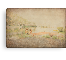 Two Boys Canvas Print