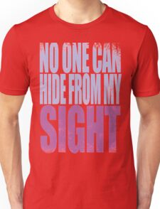 Widowmaker - No One Can Hide from My Sight Unisex T-Shirt
