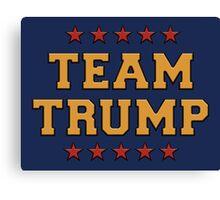 Team Trump Canvas Print