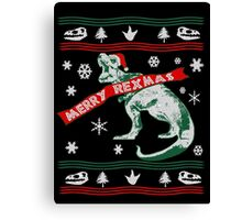 A Very Merry REXmas Canvas Print