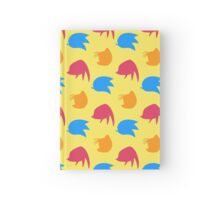 Sonic, Knuckles and Tails (yellow) Hardcover Journal