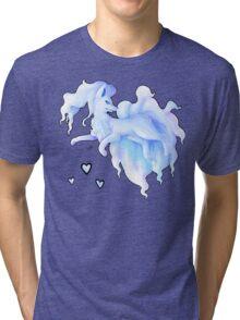 Alola Ninetails  Tri-blend T-Shirt