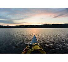 Kayaking  Photographic Print