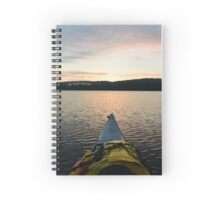 Kayaking  Spiral Notebook