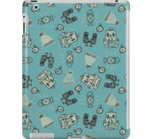 Explore - Blue iPad Case/Skin