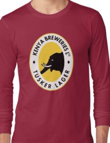 TUSKER LAGER BEER Long Sleeve T-Shirt