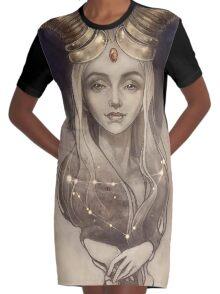 Zodiac Capricorn Robe t-shirt
