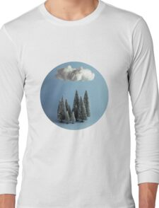 A cloud over the forest Long Sleeve T-Shirt