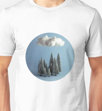 A cloud over the forest Unisex T-Shirt