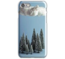 A cloud over the forest iPhone Case/Skin