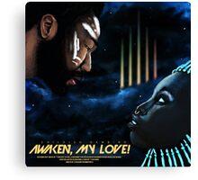 Awaken My Love Movie Poster  Canvas Print
