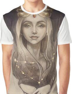 Zodiac Capricorn Graphic T-Shirt