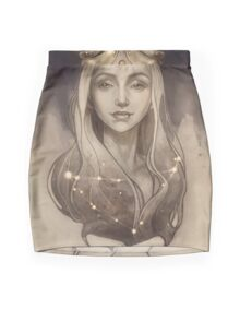 Zodiac Capricorn Mini Skirt