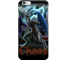 The Reigning King of Chaos iPhone Case/Skin