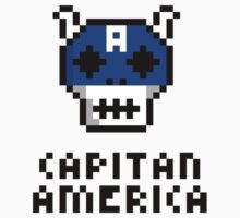 Capitan America - Name by Scaffold